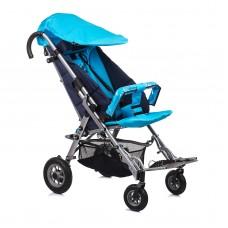 Кресло-коляска SWEETY для детей-инвалидов и детей с заболеванием ДЦП, складная алюминиевая рама, пневмо или литые  колёса, цвет: в ассортименте, вес  20 кг, максимальная нагрузка до 60 кг