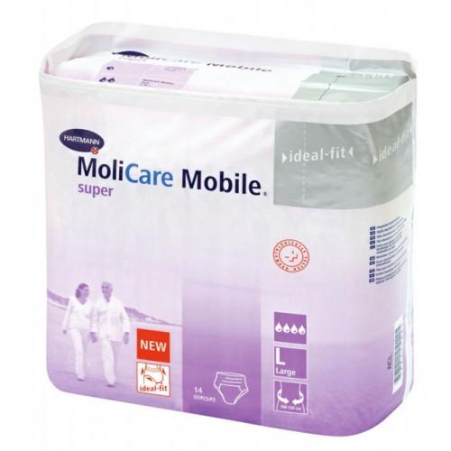 Впитывающие трусы MoliCare Mobile super, размер по выбору М, L, 2 шт./уп.