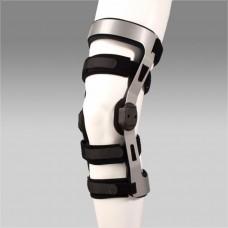 Ортез коленного сустава FS1210 для реабилитации и спорта, сильная фискация, с полицентрическими шарнирами, левый/правый, размер по выбору:S,M,L,XL