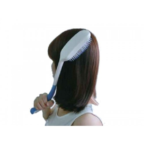 """Специальная щетка для волос с длинной ручкой тип """"массаж"""" (DA-5501)"""