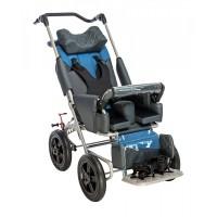 Кресло-коляска РЕЙСЕР для детей с ДЦП и детей- инвалидов, пневмаколеса, допустимая нагрузка 35-90 кг, рост 120-160 см, цвет по выбору