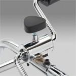 Велотренажер реабилитационный  АО901В для верхних и нижних конечностей, переносной, из стали, макс. нагрузка  на одну педаль 20 кг, вес 2 кг