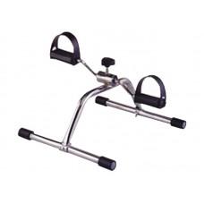 Педальный тренажер MINI-BIKE-LY-901 реабилитационный, для верхних и нижних конечностей, хромированный, макс. грузоподъемность 120 кг, вес 2 кг