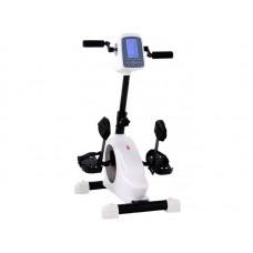 Педальный тренажер  MINI-BIKE-LY-901-F реабилитационный с электродвигателем ,  макс. грузоподъемность 120 кг, вес 16 кг, белый