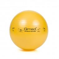 Реабилитационный мяч ABS GYM BALL желтый 45 см, под рост  116-154 см, макс. нагрузка 150 кг, насос в комплекте