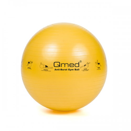 Реабилитационный мяч ABS GYM BALL желтый 45 см, под рост 116-154 см
