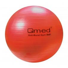 Реабилитационный мяч ABS GYM BALL красный 55см, под рост 155-169 см, макс. нагрузка 150 кг, насос в комплекте