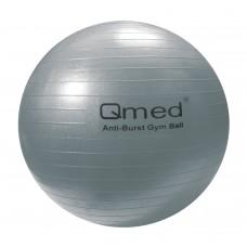 Реабилитационный мяч ABS GYM BALL серебряный  85 см, под рост более 200 см, макс. нагрузка 150 кг, насос в комплекте