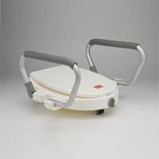 Съемное сиденье  С60850 для туалета(насадка) с подлокотниками, белое (202100003)