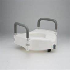 Съемное сиденье С61550 для туалета (насадка) с замком и подлокотниками (202100002)