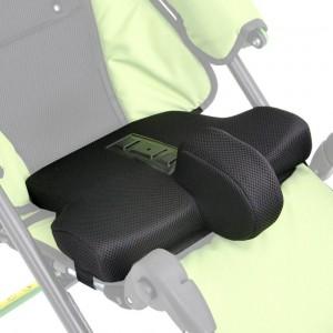 Профилированная подушка ULE_421 на сиденье (клин) для детской коляски Улисес Evo Ul
