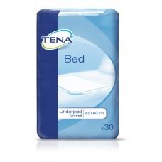 Простыни впитывающие ТЕНА Бед Андерпад Нормал/ TENA Bed Underpad Normal, 60х60 и 60х90 см, 30 шт/уп.