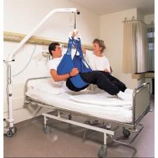 Подъёмник CURATOR с электроприводом, стальная рама, цвет - белый, вес коляски 20 кг, максимальная нагрузка до 140 кг