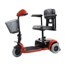 Инвалидная коляска-скутер LY-EB103-125  на 3-х колесах с электроприводом, шир.сид.36 см, допустимая нагрузка 120 кг, вес 36 кг