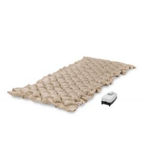 Матрас противопролежневый STANDARD для лежачих больных, воздушный, компрессор в комплекте, пузырьковый/ячеистый, S, с регулировкой давления, размер 200х90х6,5 см, максимальная нагрузка до 120 кг