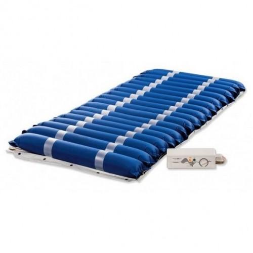Матрас противопролежневый TUBE MASTER для лежачих больных, воздушный,  компрессор в комплекте, трубчатый, ТМ, с регулировкой давления, размер 200х90х11,5 см, максимальная нагрузка до 145 кг