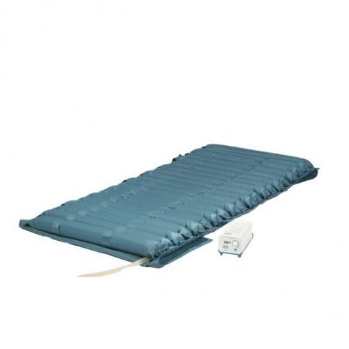 Матрас противопролежневый PREMIUM для лежачих больных, воздушный, компрессор в комплекте, трубчатый, Р, с регулировкой давления, размер 190х85х12 см, максимальная нагрузка до 140 кг