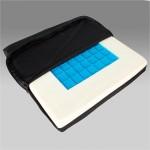 Подушка противопролежневая CQD-J-F для инвалидов, с гелевым наполнителем,  размер 41х40х5см, максимальная нагрузка 120 кг