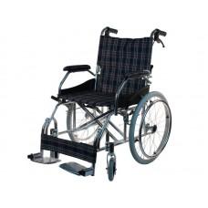 Кресло-коляска инвалидная LY-710-011 механическая, облегченная рама, допустимая нагрузка 120 кг, вес 9,5 кг