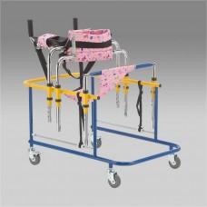 Ходунки-роллаторы металлические FS201  для детей инвалидов и детей с ДЦП, допустимая нагрузка 50 кг(201900008)