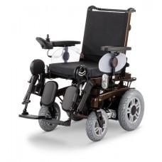 Кресло-коляска iChair MC2 1.611 с электроприводом для инвалидов, стальная рама, вес 100 кг, максимальная нагрузка 120/160 кг