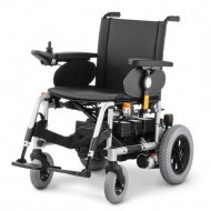 Кресло-коляска 9.500 CLOU с электроприводом для инвалидов, стальная рама, максимальная нагрузка 130 кг, вес 80 кг