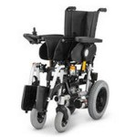 Инвалидная кресло-коляска 9.500 CLOU с электроприводом, стальная рама, максимальная нагрузка 130 кг, вес 80 кг