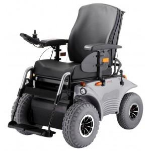 Кресло-коляска OPTIMUS 2 2.322 для инвалидов с повышенной проходимостью, с электроприводом, стальная рама,  максимальная нагрузка 120/150 кг, вес 150 кг, угол подъема 18 градусов